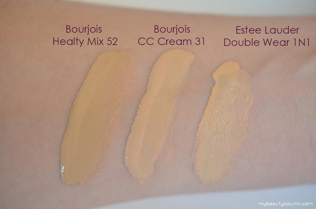 Bourjois 123 Perfect CC Cream swatch