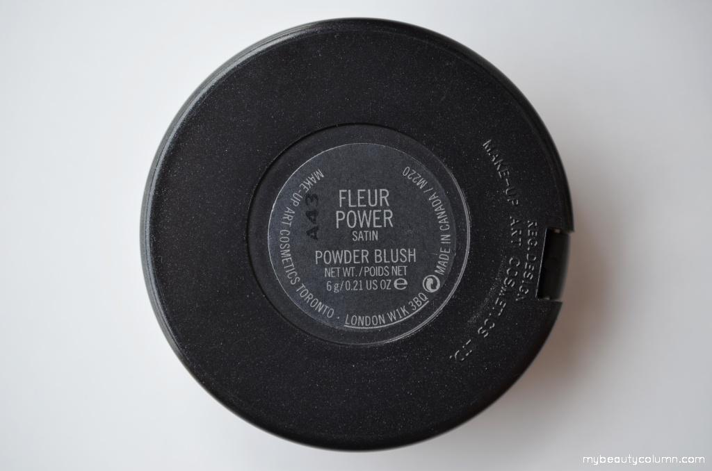 Mac rumenilo Fleur power