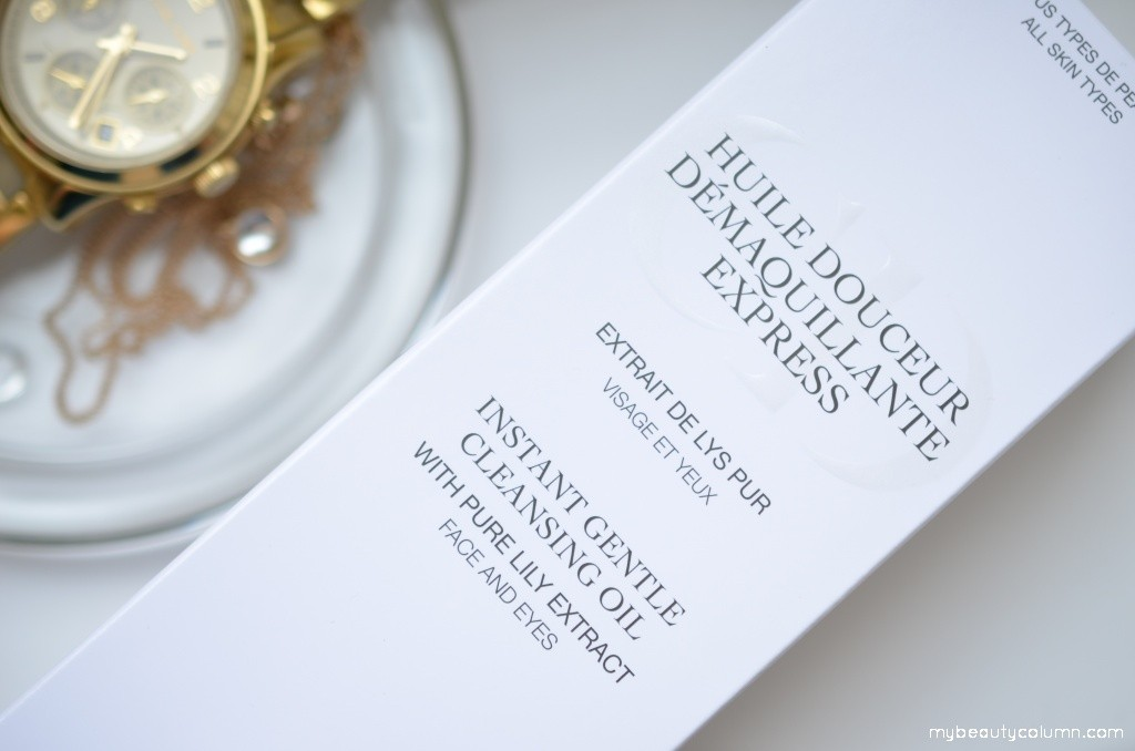 Dior Instant Gentle Cleansing Oil 001