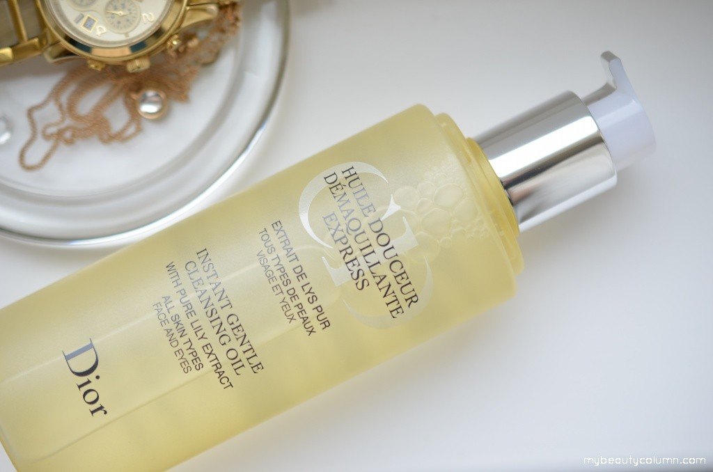 Dior Instant Gentle Cleansing Oil 002