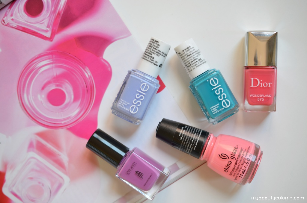 Dior, Essie, Don Juan, China Glaze