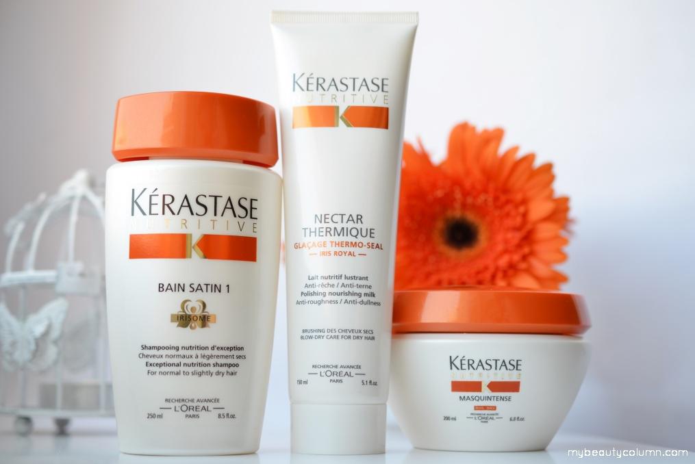 Kerastase Nutritive šampon, maska i zaštita kose od toplote