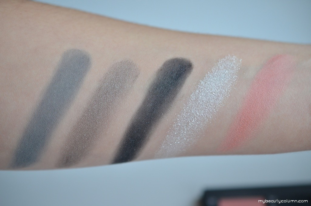 Sephora Color Around The World: 4 Eye & Face Palettes Swatch. Sephora Christmas 2015