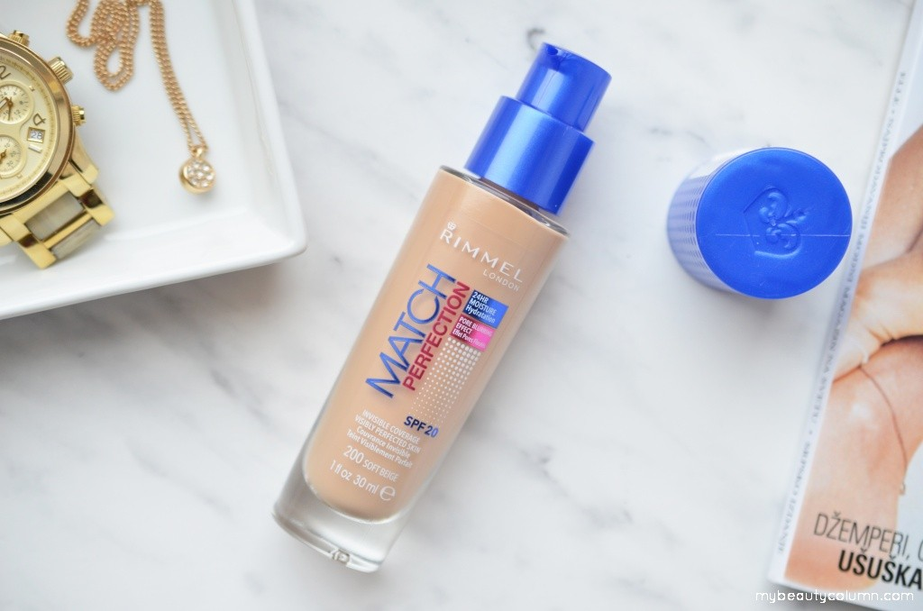 Rimmel Match Perfection Foundation With SPF 20