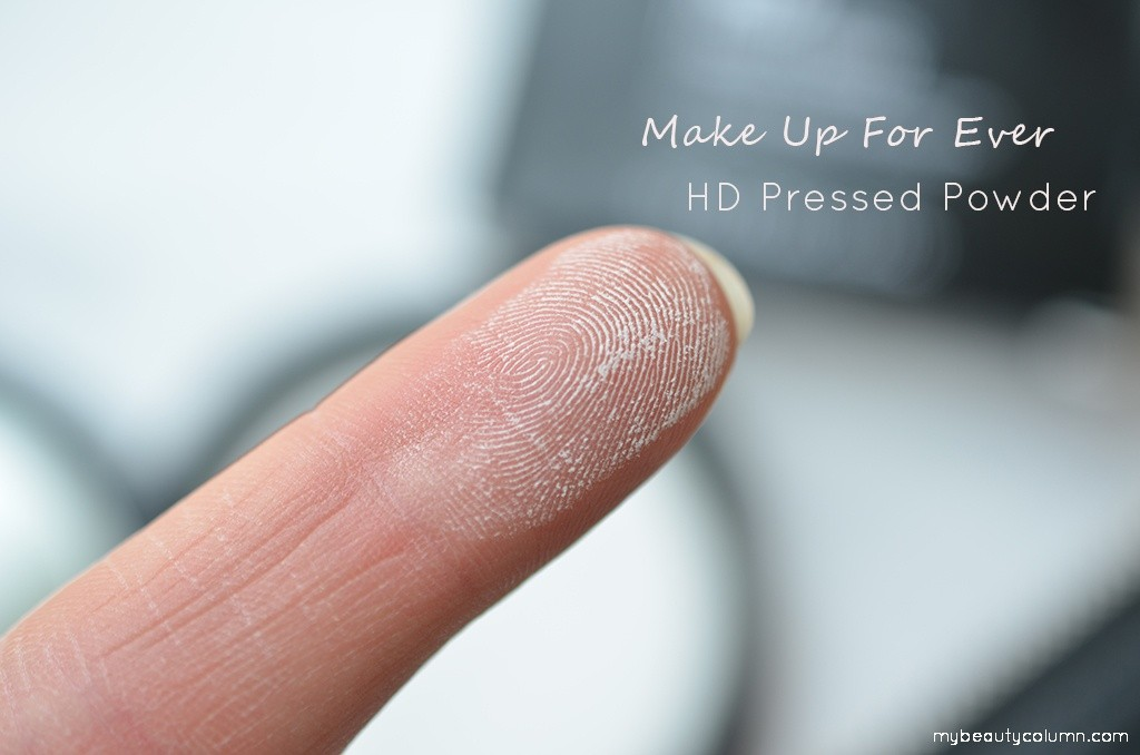 Make Up For Ever HD Pressed Powder swatch