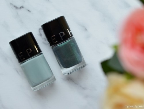 Sephora Nail Polish: Nature Lover & Tropical Bird