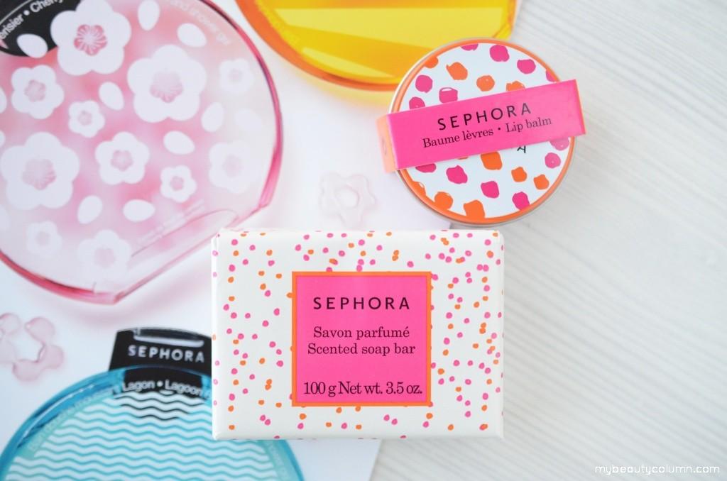 Sephora Cotton Flower Soap Bar & Lip Balm