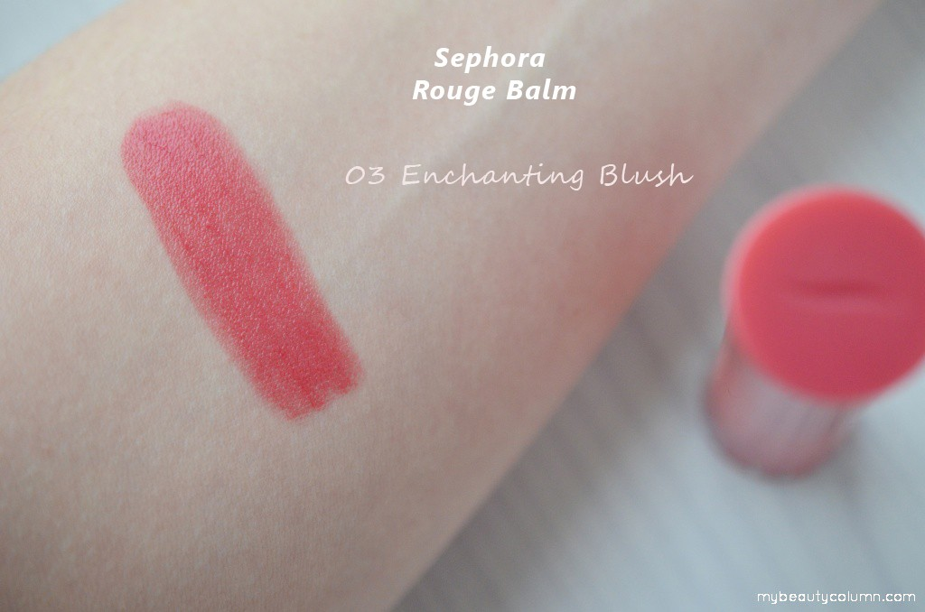 Sephora Rouge Balm Enchanting Blush swatch