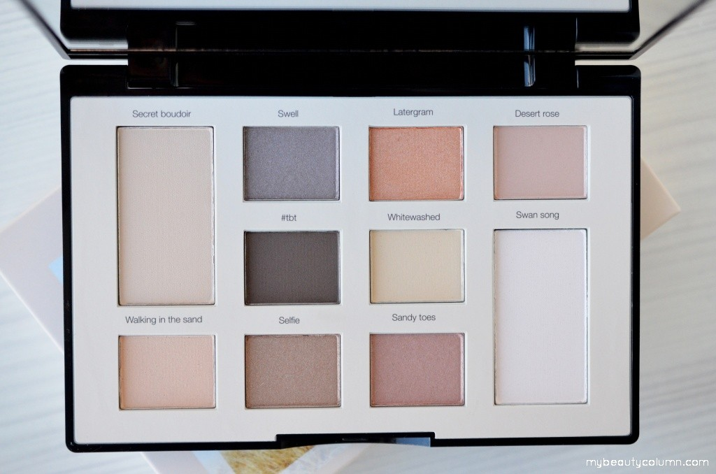 Sephora Sunbleached Filter Eyeshadow Palette