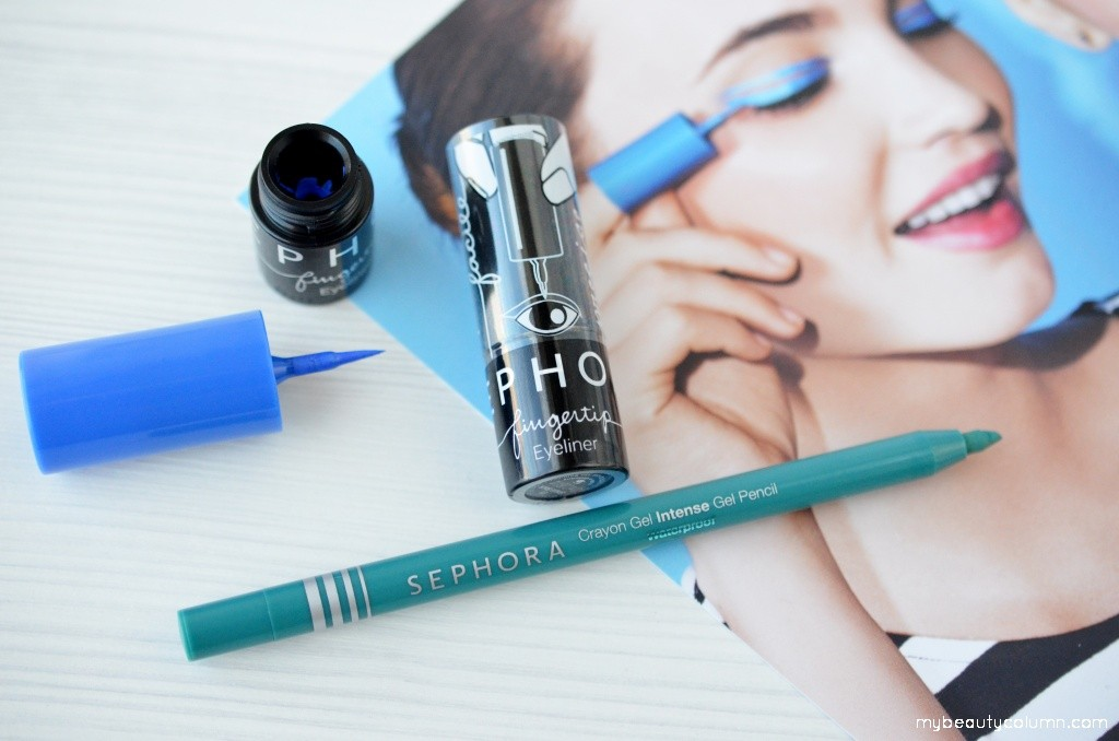 Sephora Fingertip Eyeliners & Intense Gel Pencil Waterproof