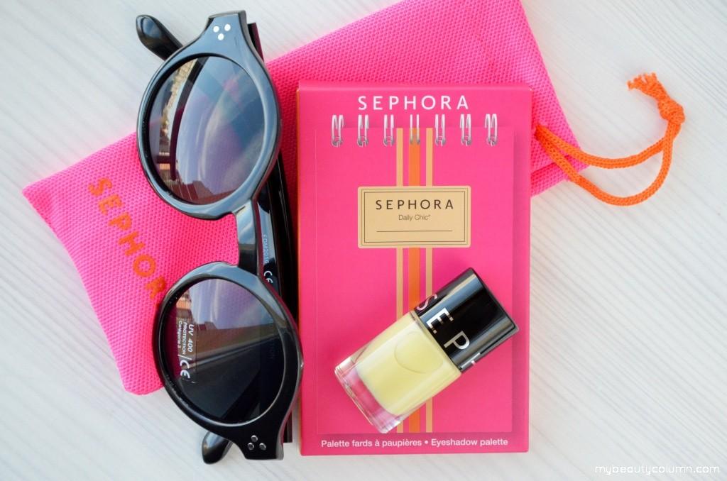 Sephora Summer 2016: eyeshadow palette & nailpolish