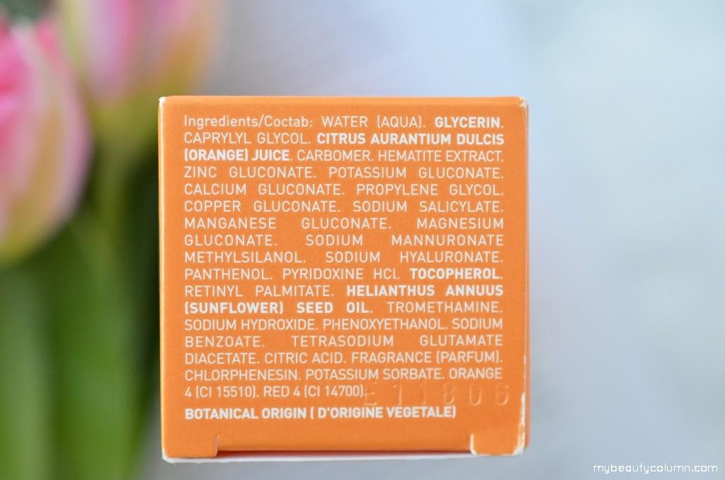 Lierac Mesolift Serum Ingredients