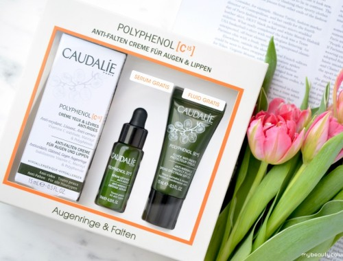 Caudalie Polyphenol C15 Set: Anti-wrinkle Eye & Lip Cream, Protect Fluid SPF 20, Defense Serum