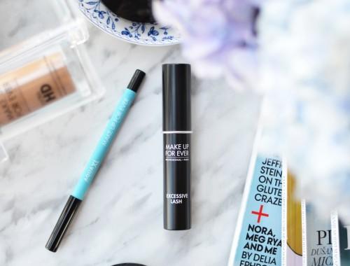 Make Up For Ever Excessive Lash Mascara & Aqua XL Eye Pencil