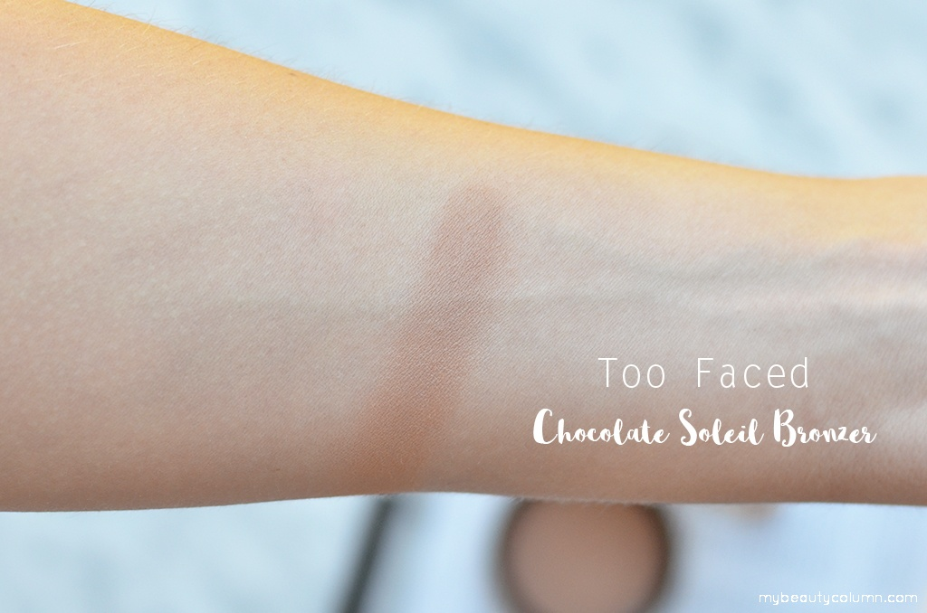 Too Faced Chocolate Soleil Matte Bronzer Swatch