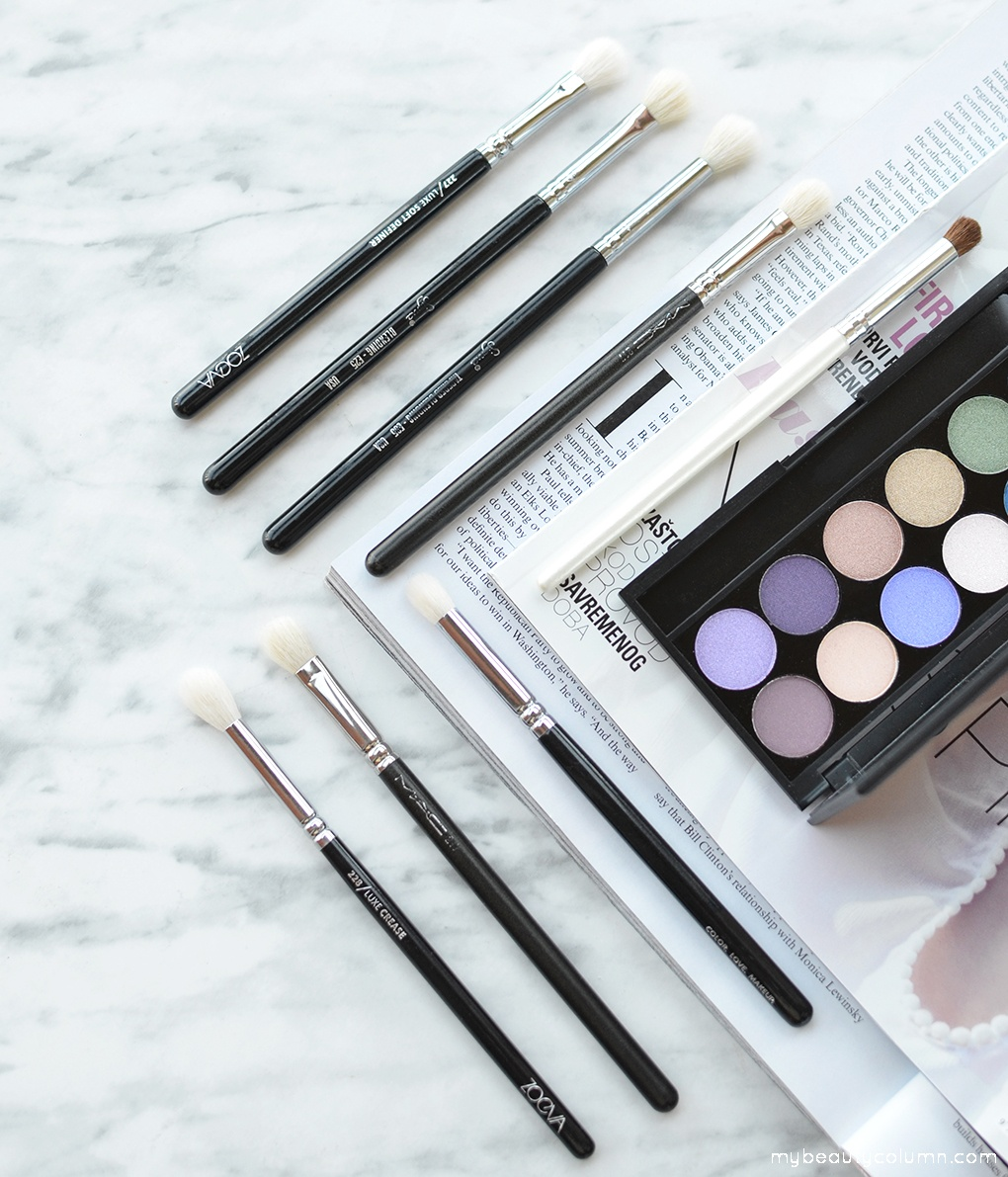 Eyeshadow Blending Brushes - MyBeautyColumn.com