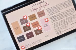 Sephora Palette Vintage Effect Filter