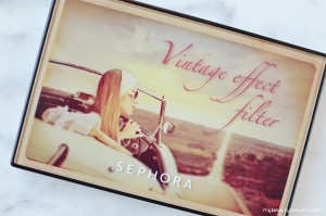 Sephora Vintage Effect Filter