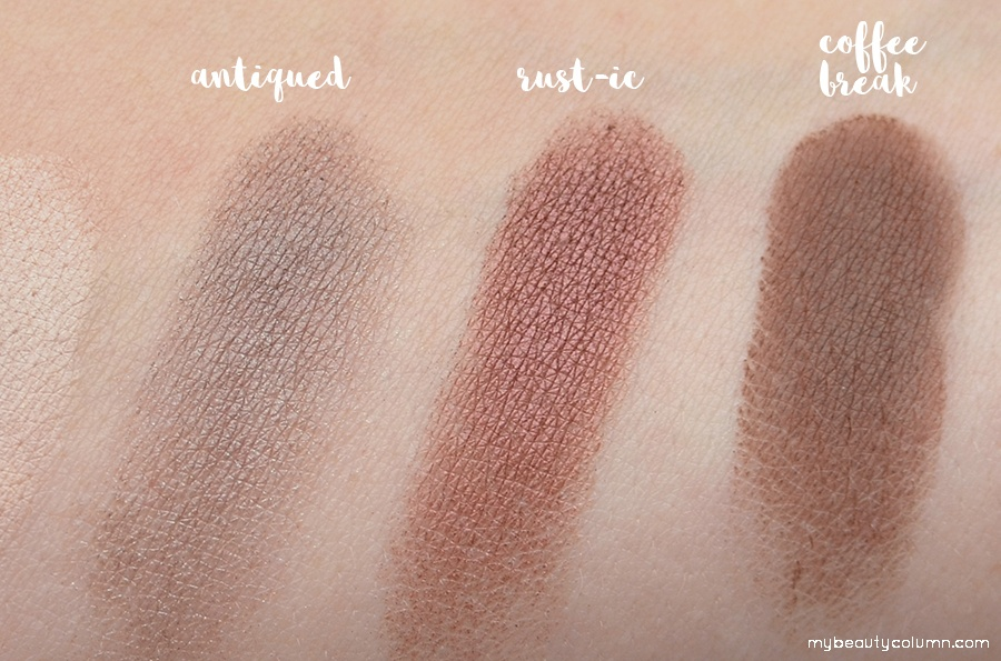 Sephora Vintage Effect Filter Palette Swatches