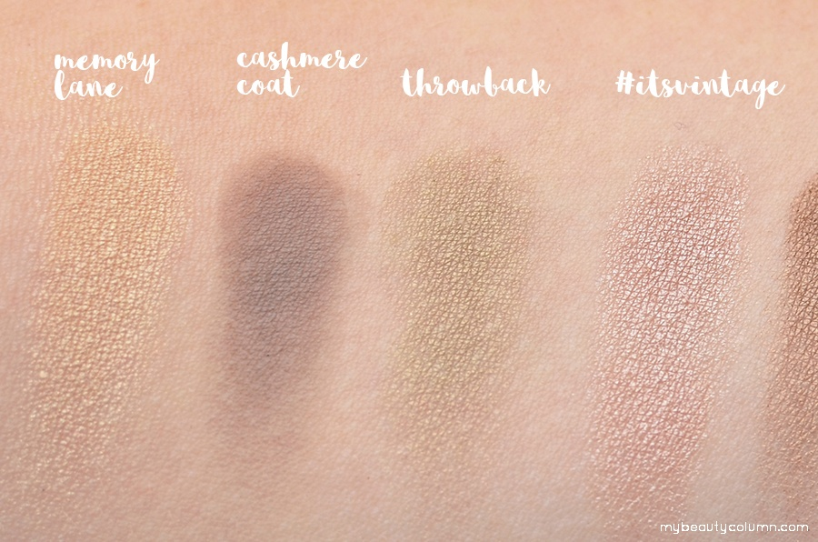 Sephora Vintage Effect Filter Palette Swatch