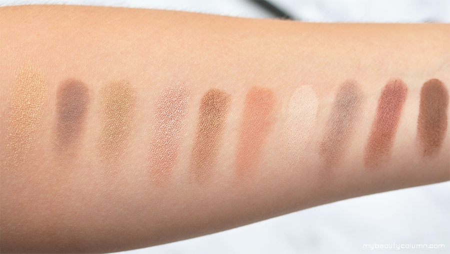Sephora Vintage Effect Filter Eyeshadow Palette Swatches