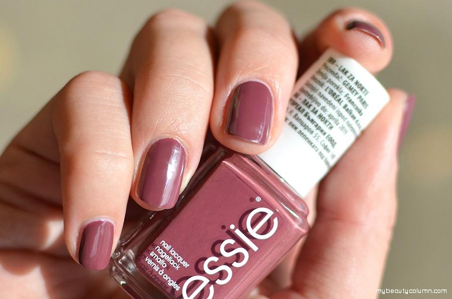 Essie Angora Cardi Nail Polish & Nail Color