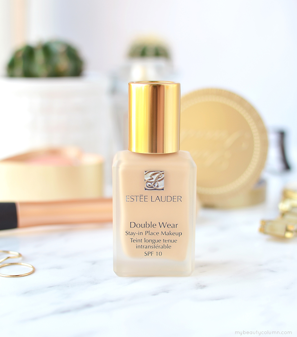 Estee Lauder Double Wear Stay-in-Place Makeup Spf 10 - Review & Swatches