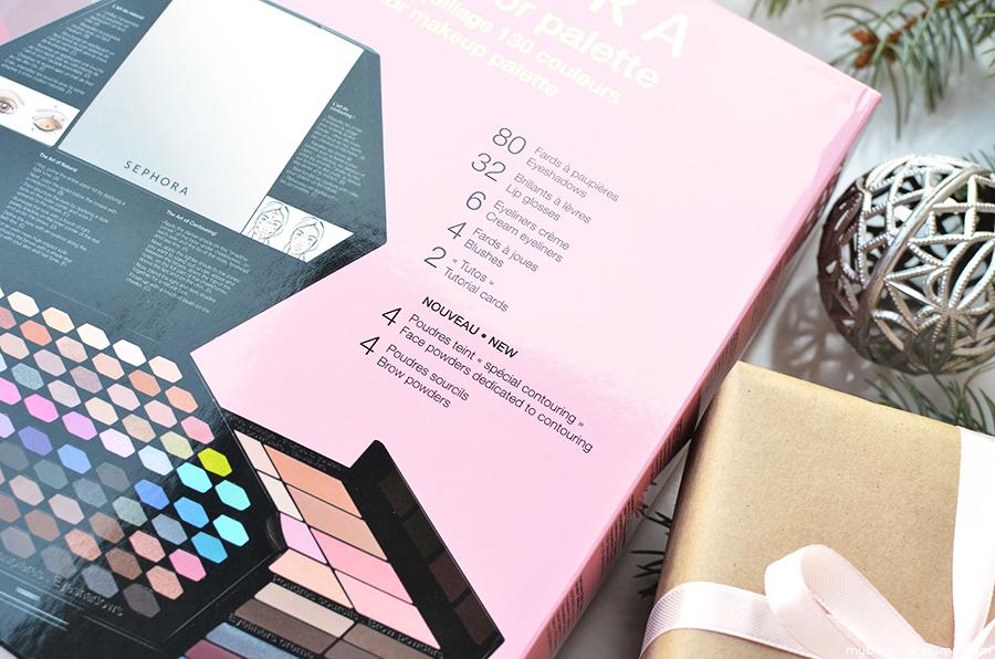 Sephora Geometricolor Palette 130 Color Makeup Palette