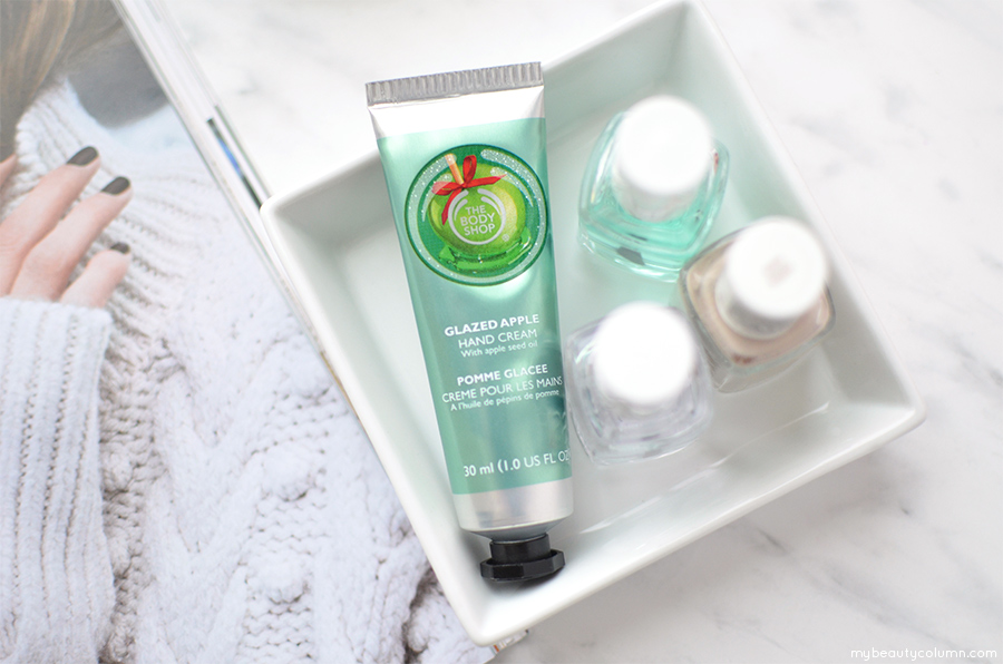 The Body Shop Glazed Apple Hand Cream - MyBeautyColumn.com