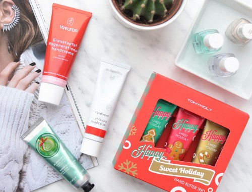 The Best Hand Creams to Use This Winter: Tony Moly, Weleda, Dr. Hauschka, The Body Shop - MyBeautyColumn.com