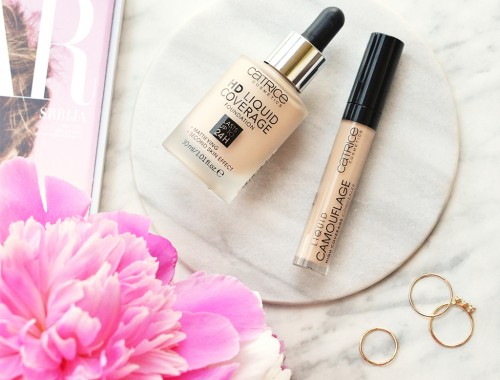 Catrice HD Liquid Coverage Foundation & Catrice Liquid Camouflage Concealer - Review & Swatches - MyBeautyColumn.com