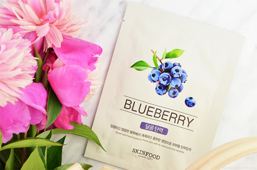 Skinfood Blueberry Sheet Mask